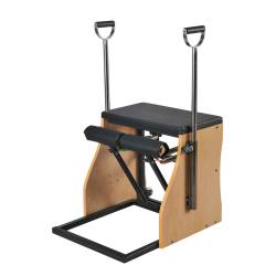 Silla de Pilates (Combo Chair) con base de acero y asas