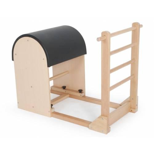 Pilates Ladder Barrel with wooden base