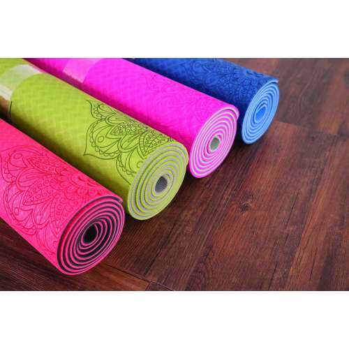 Two-tone TPE Yoga mat