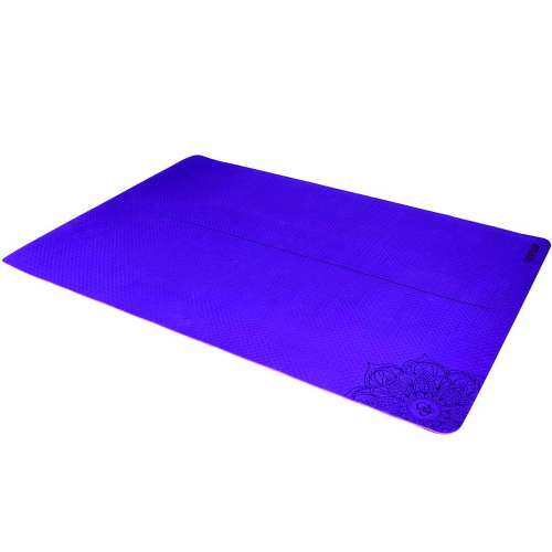 Two-tone King Size TPE Yoga mat