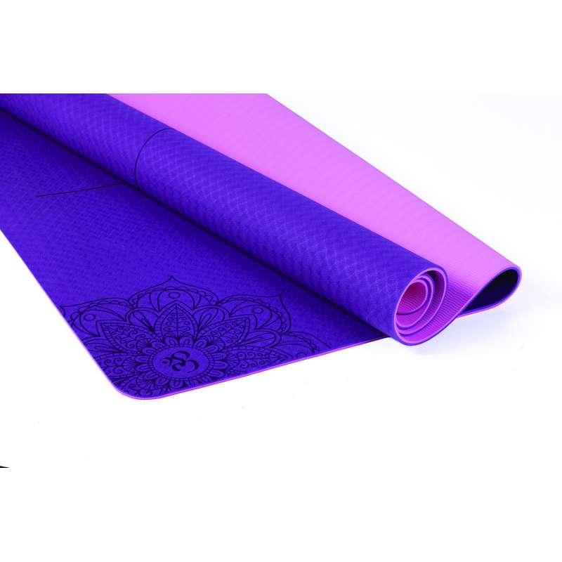 Esterilla de Yoga TPE Bicolor King Size