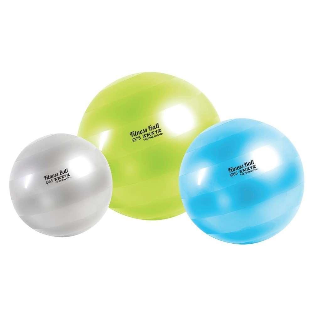 ballon de fitness tecnocaucho® de 75 cm - elina pilates