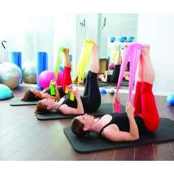 Elastische Fitnessbänder, ohne Latex