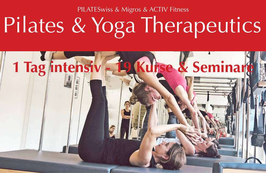 Elina Pilates sponsorise la convention Pilates&Yoga Therapeutics