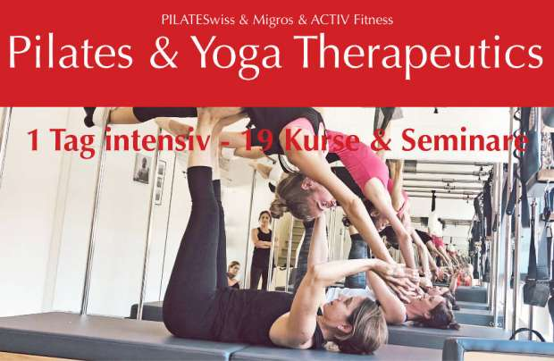 Elina Pilates sponsert die Pilates & Yoga Therapeutics Convention
