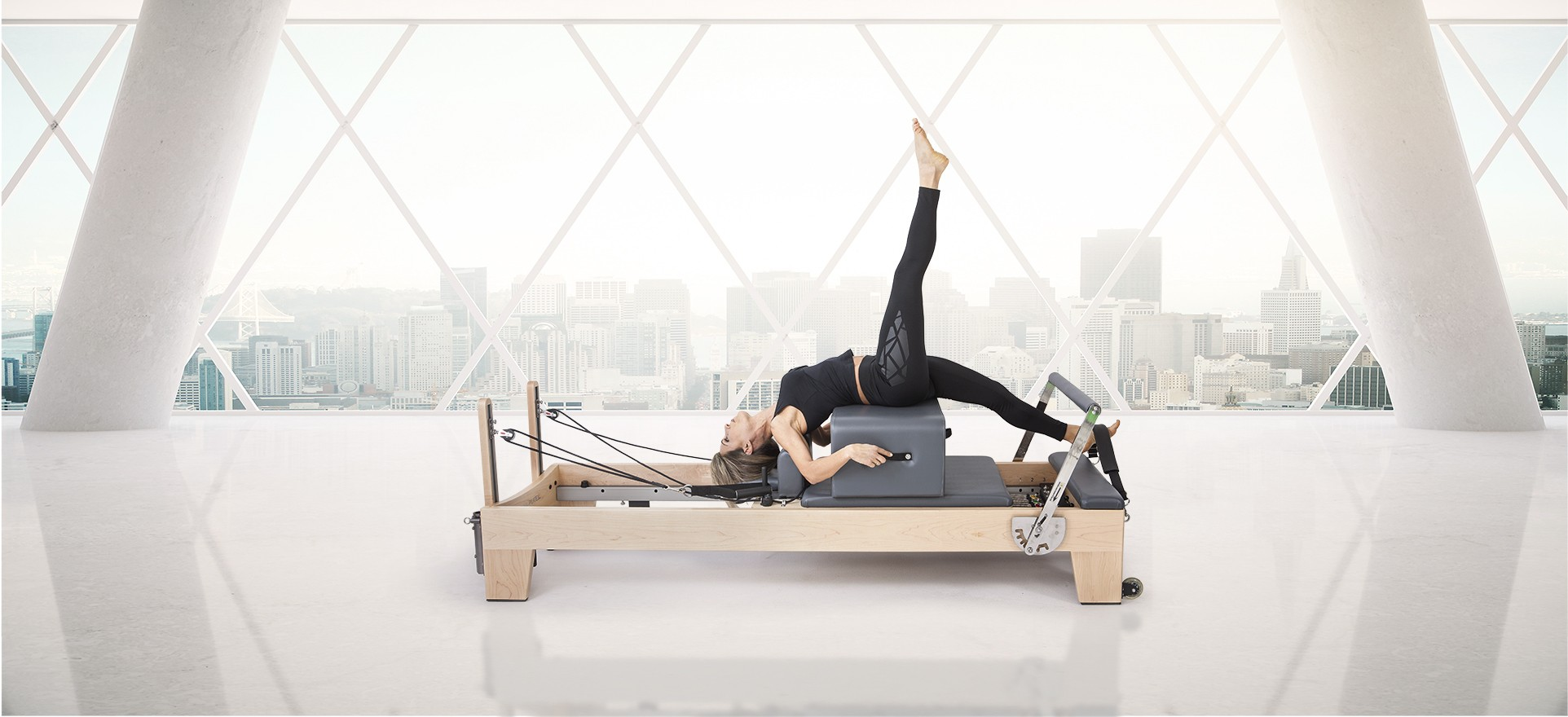 "Wood Reformer per Pilates ""ELITE"""