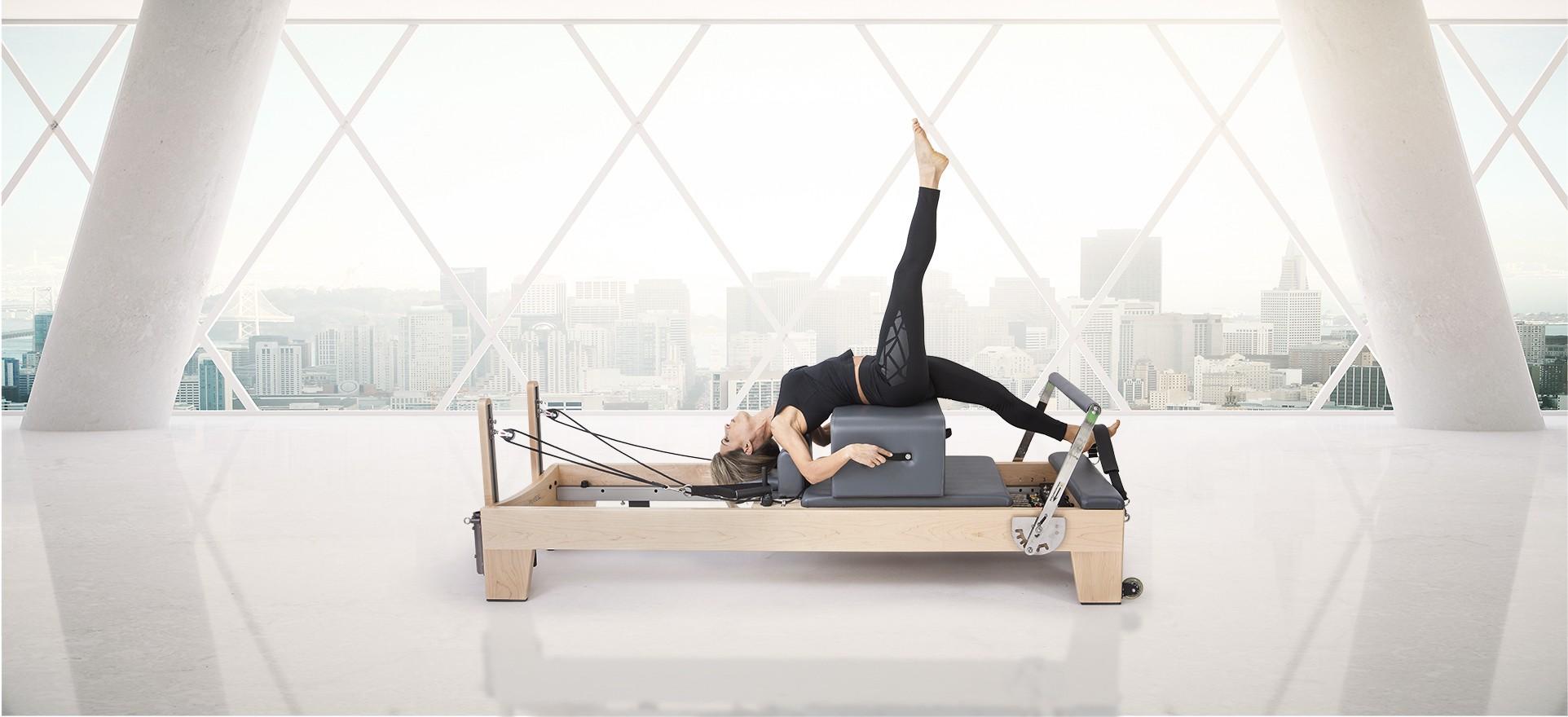 "Pilates Reformer Wood ""ELITE"""