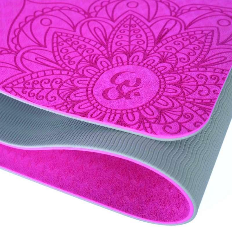 Yoga Mat T.P.E. Bicolor