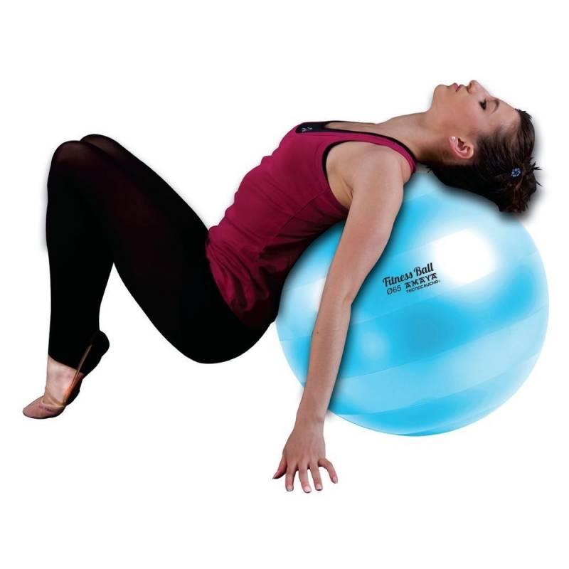 Fitness Ball 55 cm.Tecnocaucho® Antiexposión.