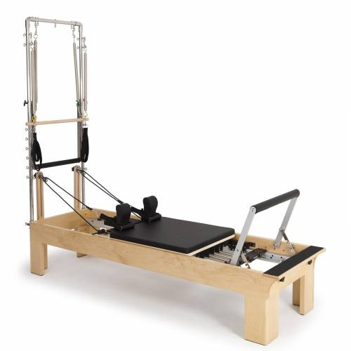 Physio wood reformer with tower