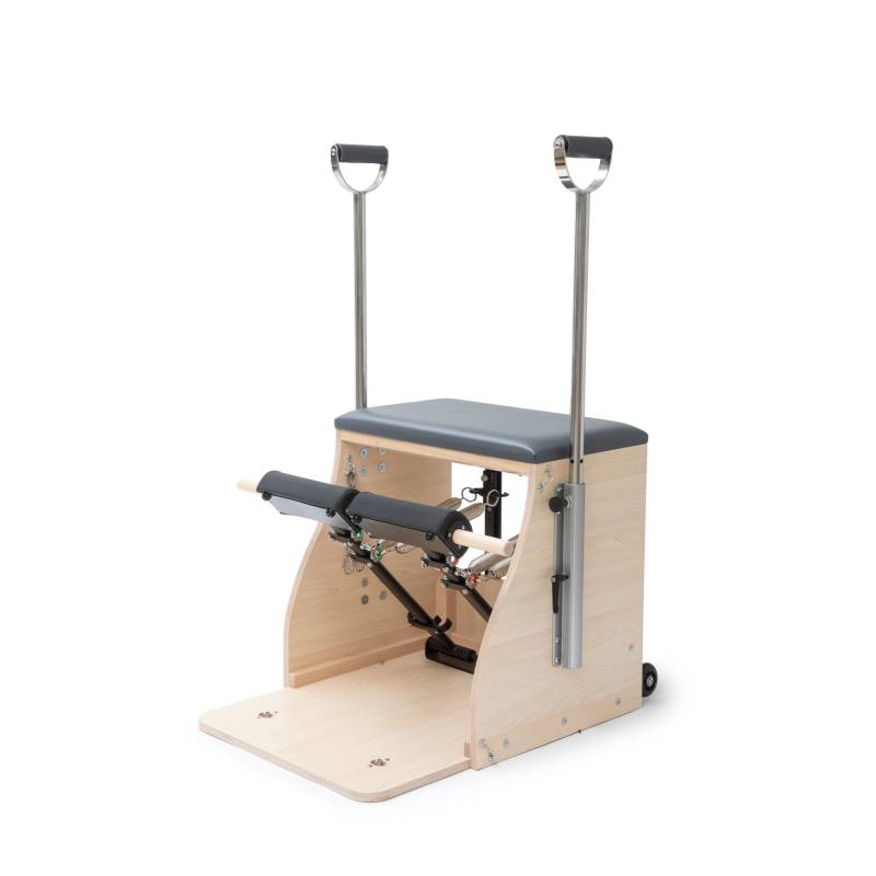 Wood Pilates Chair ELITE with handles. Elite Combo Chair