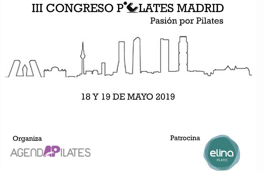 Elina Pilates sponsors for the third consecutive year the Pilates Congress in Madrid
