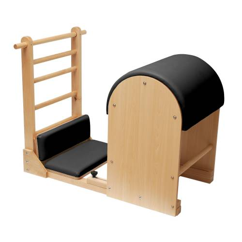 Barril Pilates ELITE (Ladder Barrel) con base de madera